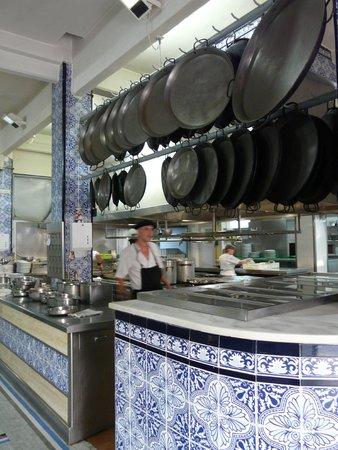 La Pepica: Küchenbereich
