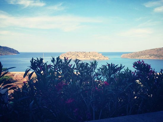Blue Palace, a Luxury Collection Resort & Spa, Crete : Hotel view