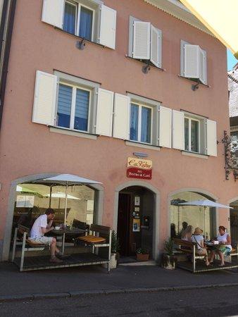 EssKultur Bio Restaurant & Cafe: Aussenansicht