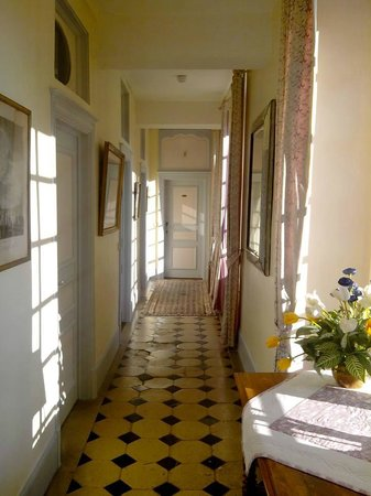 Chateau du Landel : The coridor for the superior rooms