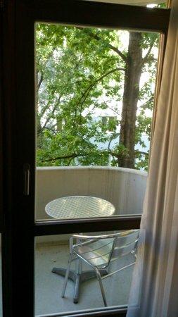 Leonardo Hotel & Residence München: Balcony