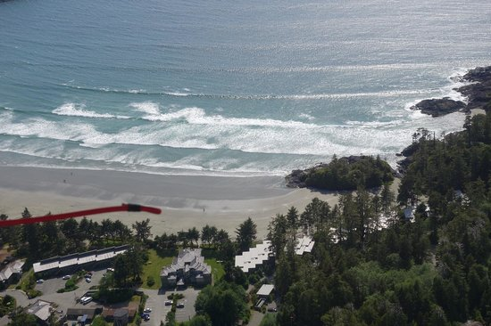 Pacific Sands Beach Resort : Pacific Sands v. oben