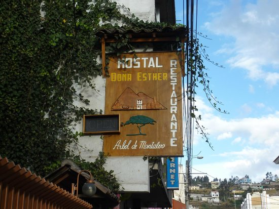Hostal Dona Esther: insegna