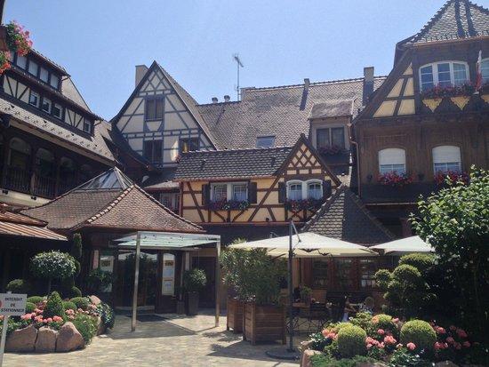 Le Parc Hotel Restaurant & Spa : Entrée principale