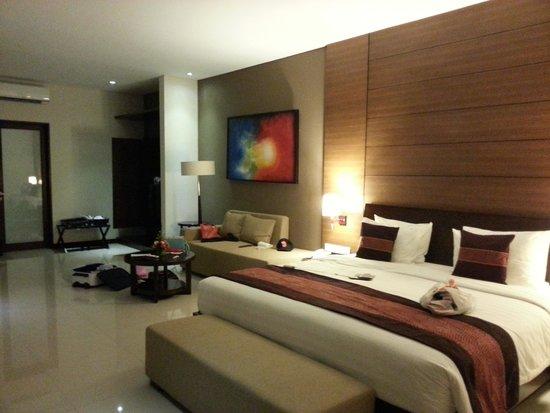 Uppala Villa & Spa Umalas: bedroom