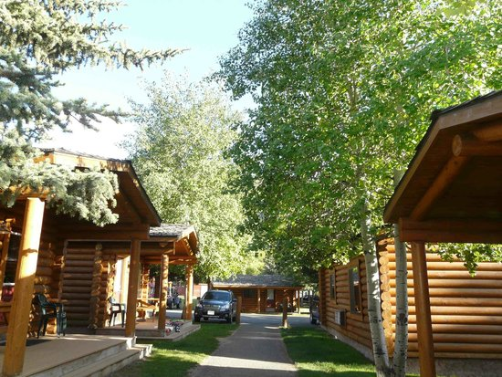Cowboy Village Resort : View from our front porch, looking to the right