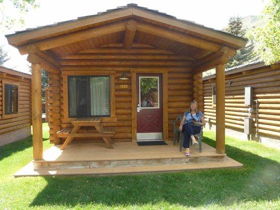 Cowboy Village Resort: Our front porch