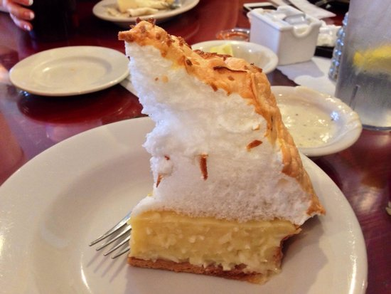 Farmhouse Restaurant: Coconut pie. Not as good as it appears to be.
