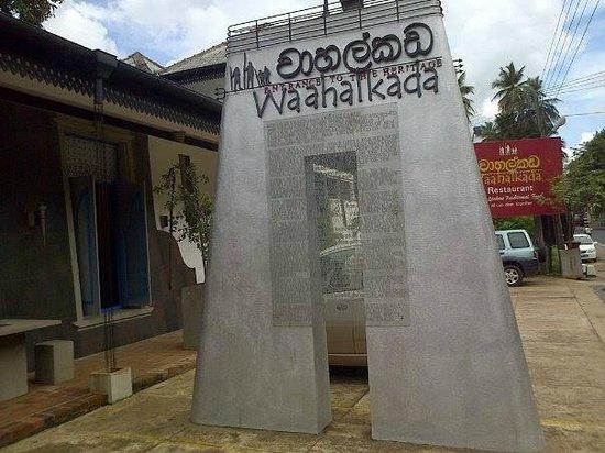 Wahalkada: Thats the name of the restaurant