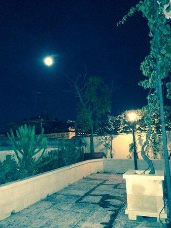 Patria Palace Hotel : terrazza