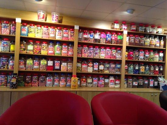 Sweet Cafe: Sweet selection