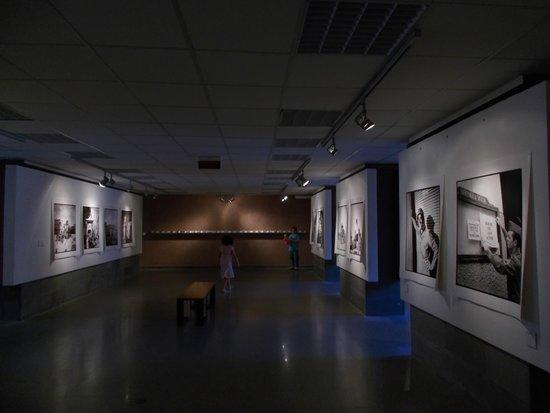 Museo Storico dello Sbarco in Sicilia 1943: sala fotografica dello sbarco