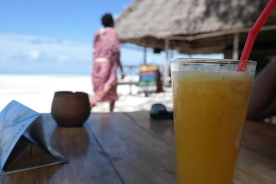 Ndame Beach Lodge Zanzibar: Passion fruit juice