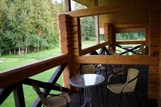 Milzkalne Guest House: 2nd floor terrace
