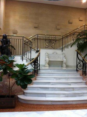 Hotel Continental : escalier