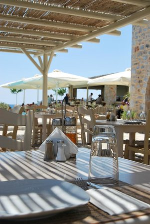 Castello Antico Beach Hotel: restaurant