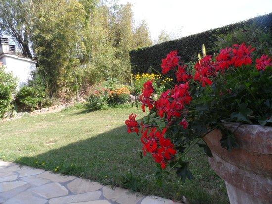 Casa Grimaldi: in giardino