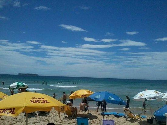 Praia Mole: Vista da areia