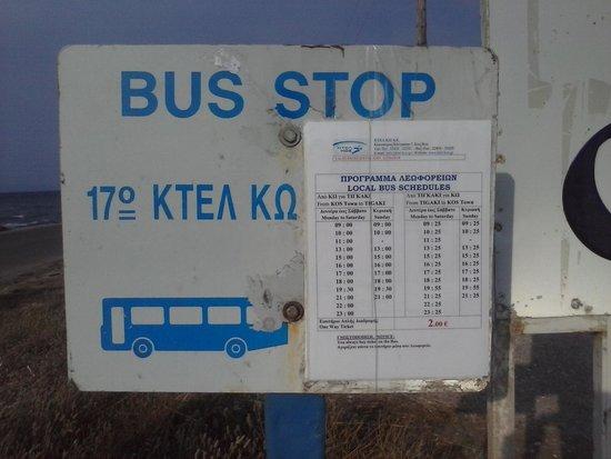 Hotel Corali : sur la plage, les bus pour KOS