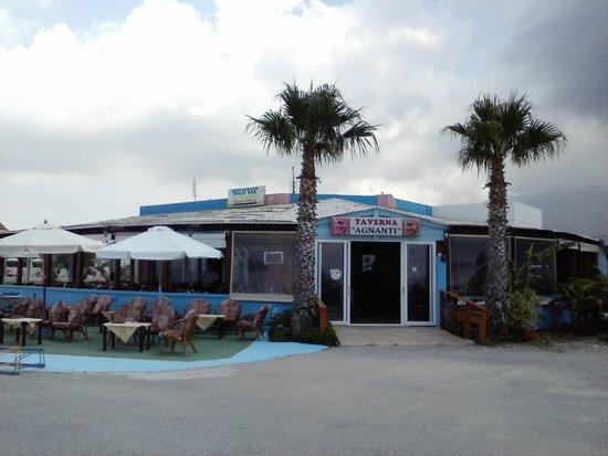 Hotel Corali : Taverna Agnanti sur la plage