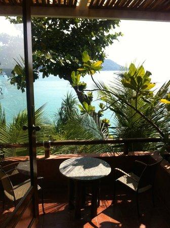 Mom Tri's Villa Royale : vista desde la terraza
