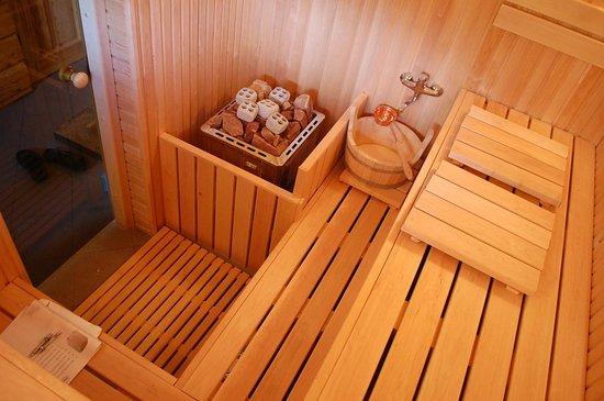Milzkalne Guest House: sauna