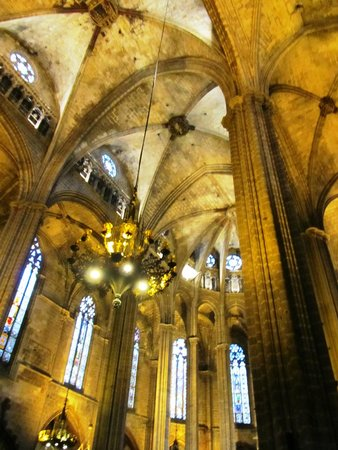 Catedral de Barcelona: Cathedral of Santa Eulalia, Barcelona, Spain