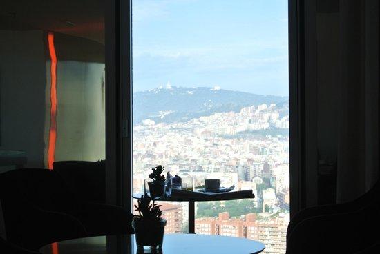 Melia Barcelona Sky : salon The Level