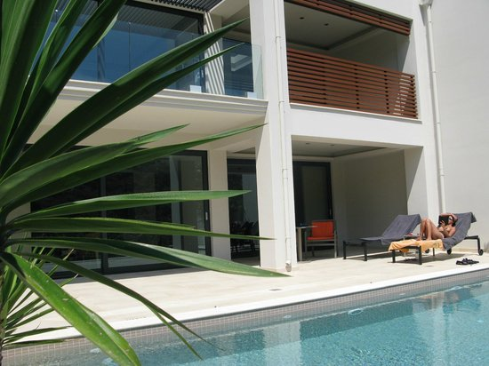 TesoroBlu Hotel & Spa: Backside Executive suite