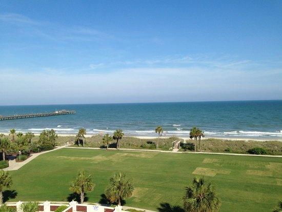 DoubleTree Resort by Hilton Myrtle Beach Oceanfront: View from the Palmetto Premium View room