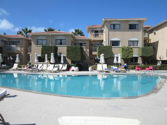 The King Jason Paphos: One bedroom apartment