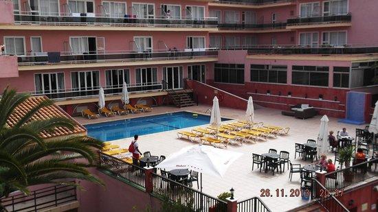 Playamar: Top pool view