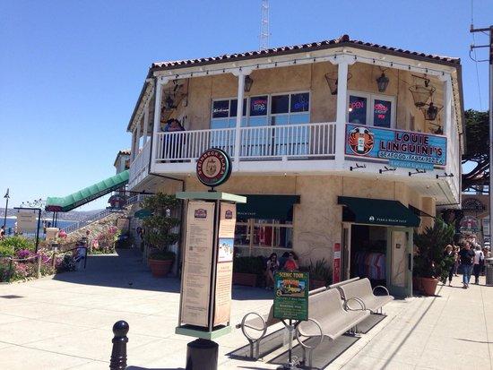 Louie Linguini's: Ótimo restaurante em Monterey.