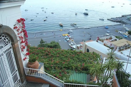 Hotel Buca di Bacco: view from the  balcony