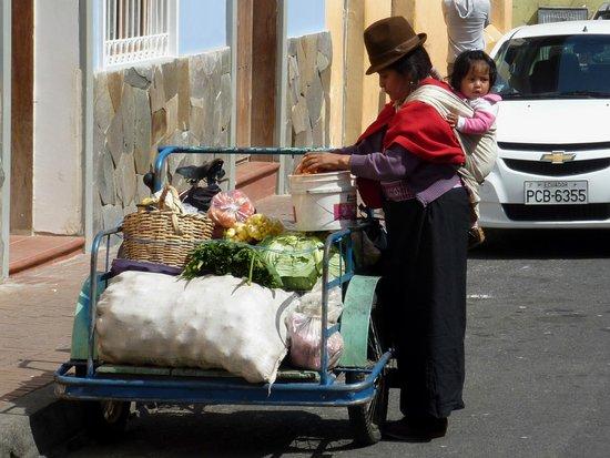 Quito Old Town : scorcio