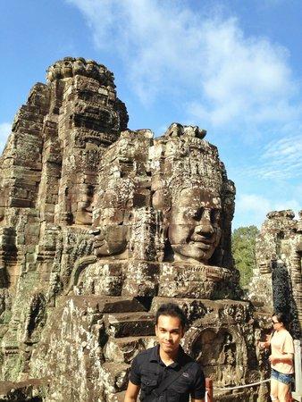 Bayon (Angkor) : Faces!