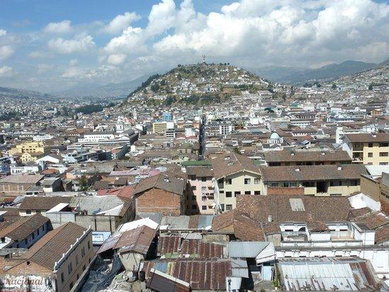Quito Old Town : scorcio dalla cattedrale