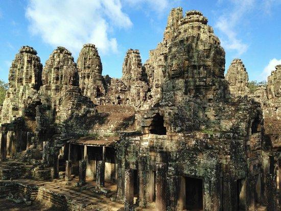 Bayon (Angkor) : Amazing view.