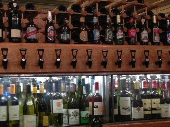 Just a Taste: wine on tap