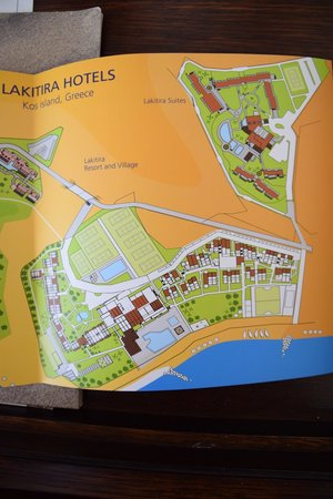 Lakitira Suites : Схема местности