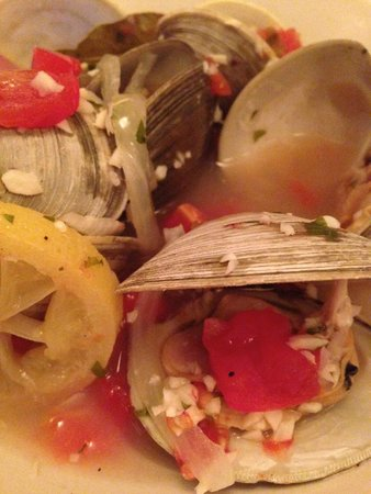 Just a Taste: steamed clams