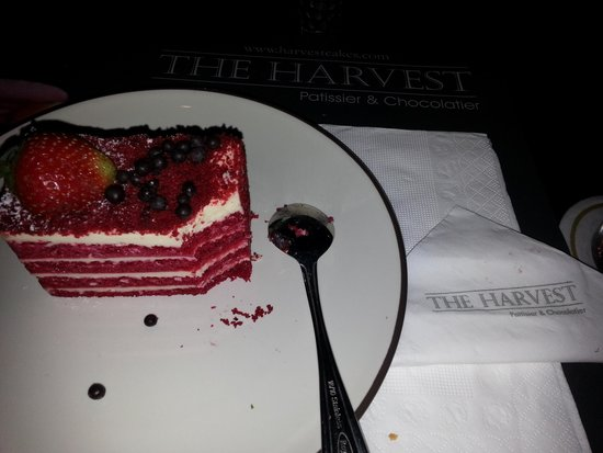 The Harvest Patissier & Chocolatier: The Red Velvet �� Love it so much! #yummy #recommended