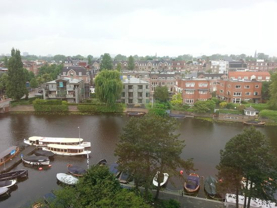 Hilton Amsterdam: View from my room