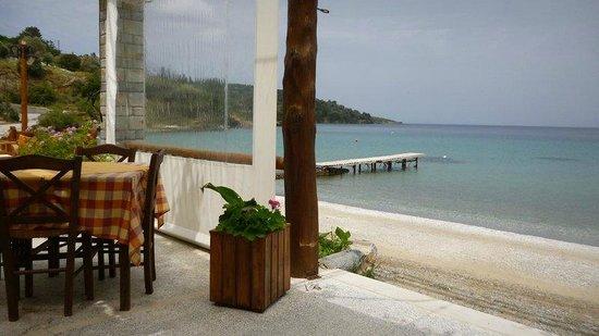 Petra Mare Village: restaurant at the beach