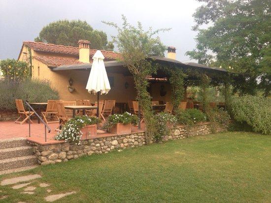 Relais Poggio Borgoni: Restaurant