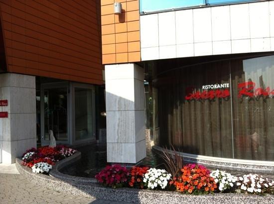 Antony Palace Hotel : entrance to hotel