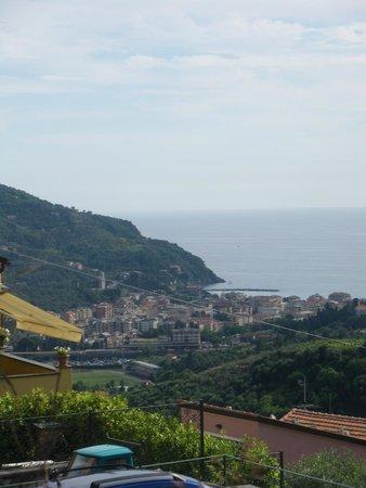 Zia Mari: view from garden