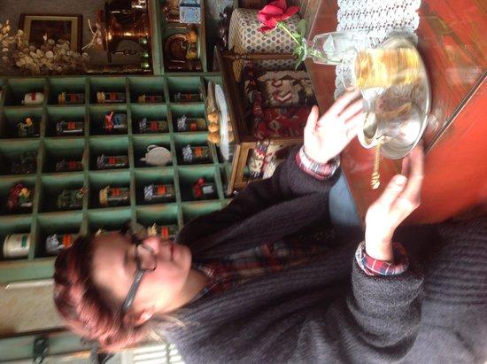 Cajdzinica Dzirlo-Tea House: Explaining the art of drinking Bosnian Coffee