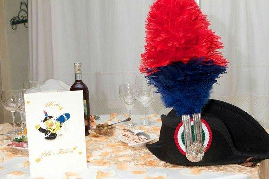 Hotel Ristorante Domu Incantada: Tavolo sposi