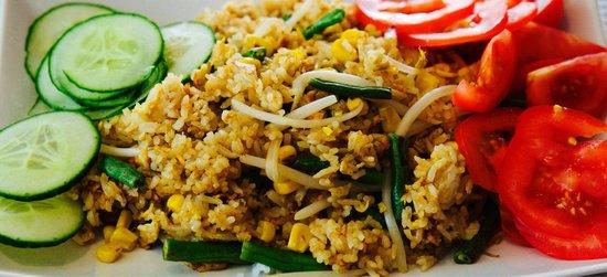 Lotus Asia Imbiss: Gebratener Reis